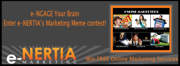 e-NERTIA eNGAGE your brain meme photo contest